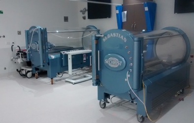 Picture of hyperbaric chambers