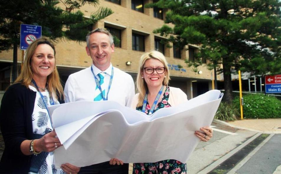 FHHS commissioning team look at plans for the future of the hospital