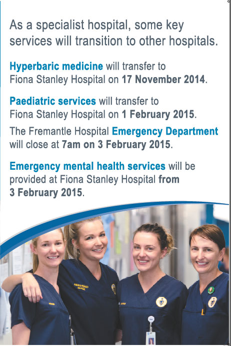 Image of hospital transition dates