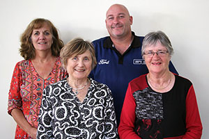 Three female and one male member of the Fremantle Hospital Consumer Advisory Council